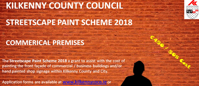 Kilkenny County Council Paint Scheme 2018 Banner