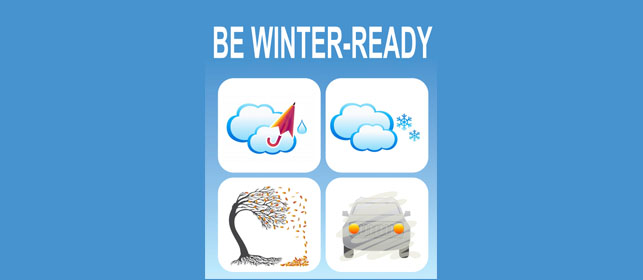 Be winter ready 2018