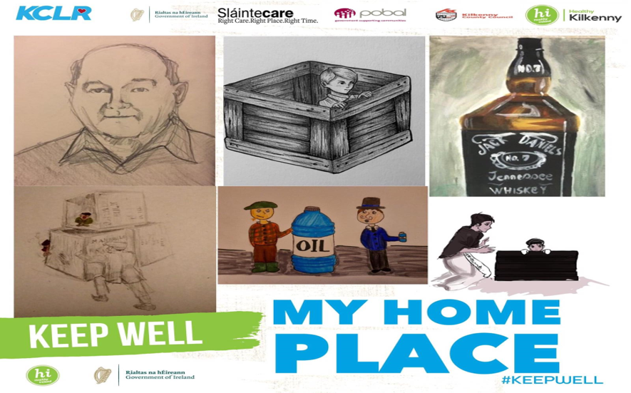 My Home Place - Week 1 Ossory Youth Art