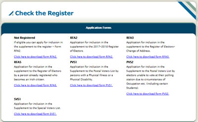 Check The Register Website Screen Shot