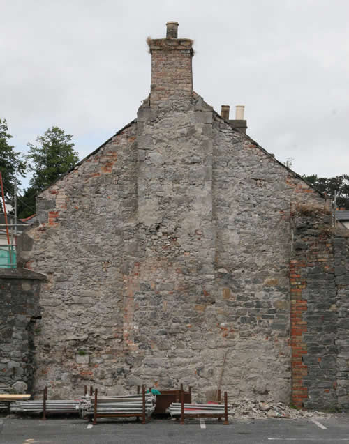 Vicar Street Gable Wall