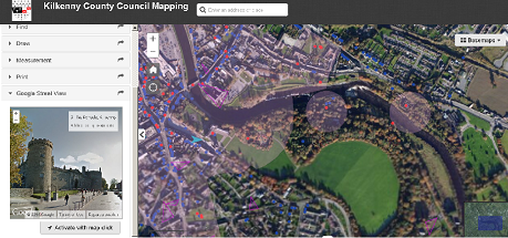 Kilkenny County Council Cross Platform Mapping