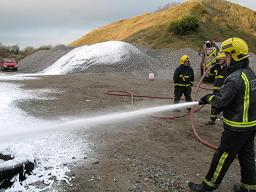 Using CAFS to Put Out a Fire