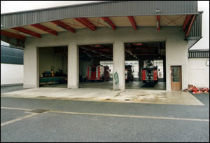 New Extension to Kilkenny Fire Station - Rear