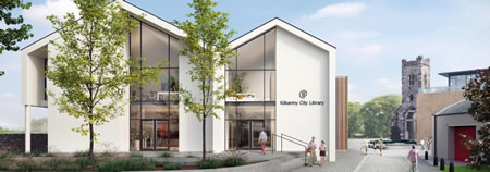 Proposed Library Building